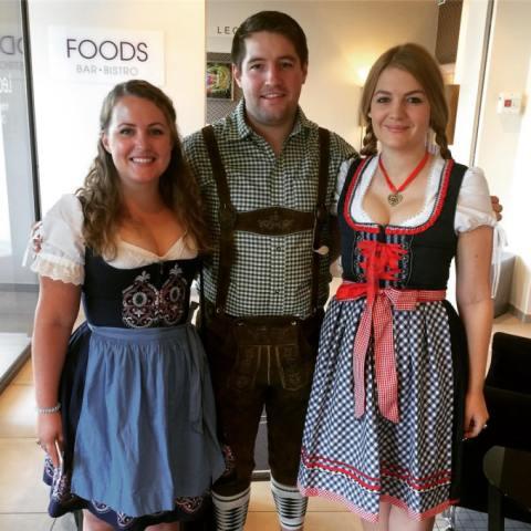 Swish dirndls for Oktoberfest Munich