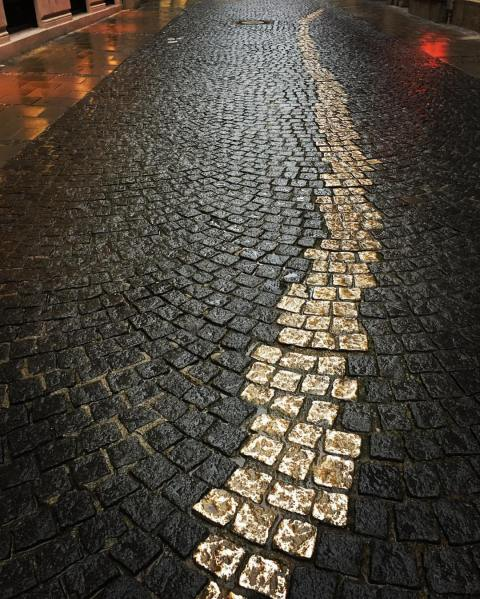 Dodger's alley in Munich Germany